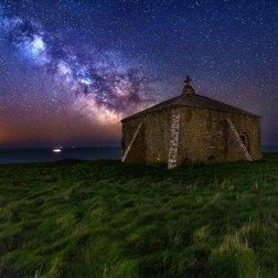 St Aldhelm's Chapel - Dorset Milky Way Photography UK