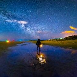 Studland Beach Milky Way - Dorset Milky Way Photography UK