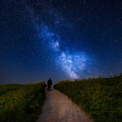 Lulworth Cove Milky Way - Dorset Milky Way Photography UK