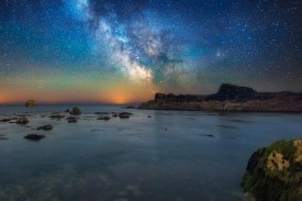 Man O'War Milky Way - Dorset Milky Way Photography UK