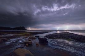Kimmeridge Thunderstorm Dorset UK
