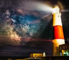 Portland Bill Milky Way