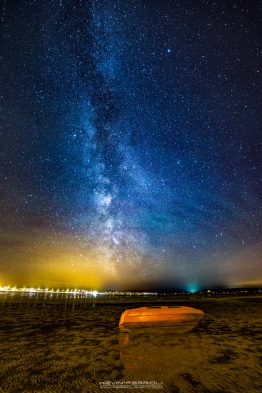 Sandbanks Milky Way