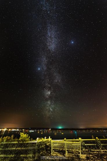 Evening Hill Sanbanks Milky Way