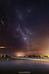 Poole Park Milky Way