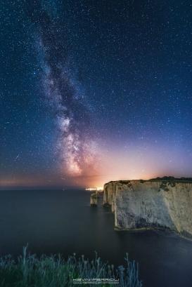 Old Harry Rocks Milky Way