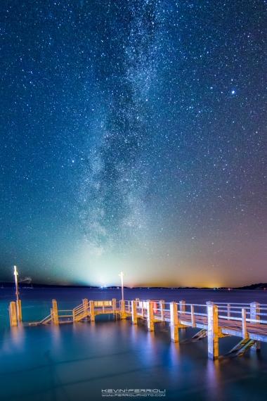 Sandbanks Pier Milky Way Poole Harbour