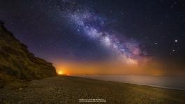 Hengistbury Head Milky Way
