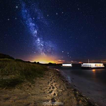 Floating Houses Milky Way