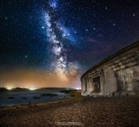 Hurst Castle Milky Way