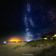 Sandbanks Beach Milky Way
