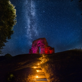 Christchurch Castle Milky Way