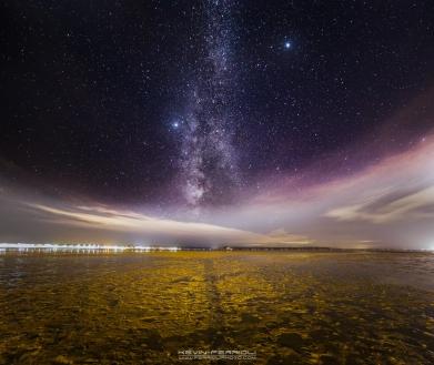 Sandbanks Poole Harbour Milky Way