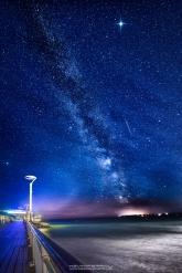 Bournemouth Pier Milky Way