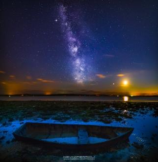 Hamworthy Poole Harbour Milky Way