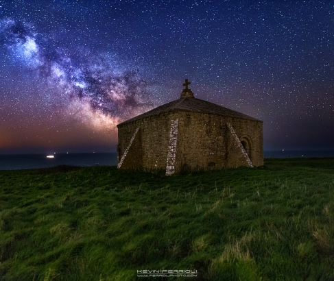 St Aldhelm's Chapel Milky Way