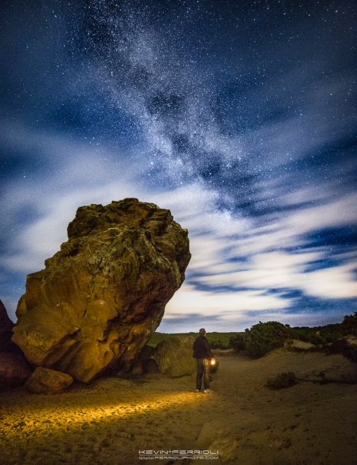 Agglestone Rock Milky Way
