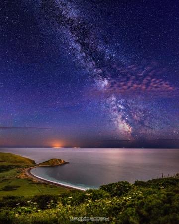 Worbarrow Milky Way