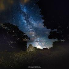 Tyneham Village Milky Way