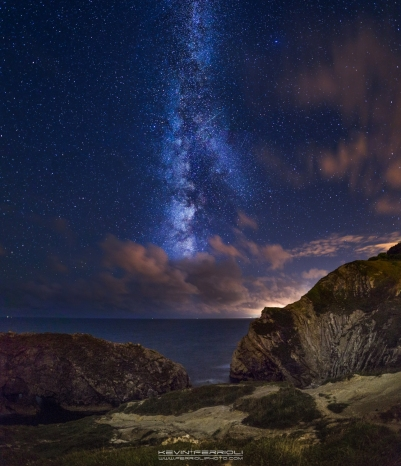 Stair Hole Milky Way