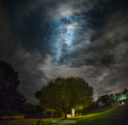 Worth Matravers Milky Way