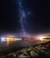 Poole Quay Milky Way