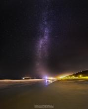 Bournemouth Beach Milky Way