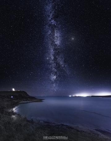 Kimmeridge Bay Milky Way