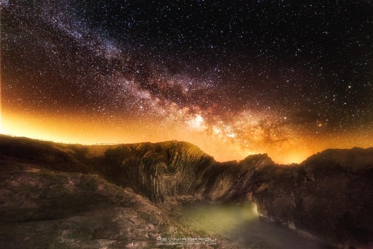 Stair Hole Milky Way Dorset